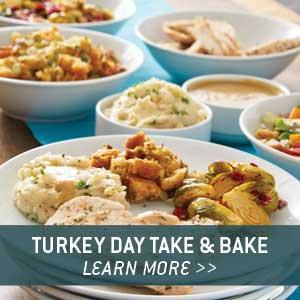 Turkey Day Take & Bake